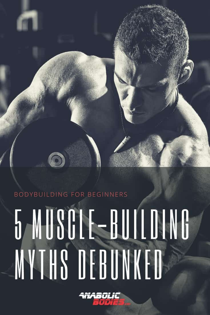 Five common misconceptions surrounding #bodybuilding and strength training. 5 Muscle-Building Myths Debunked!
