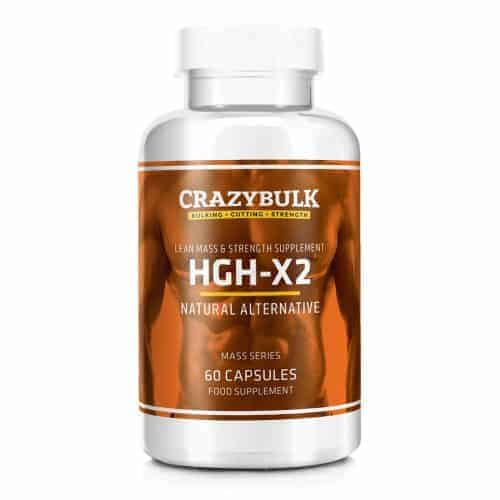 HGH X2 by Crazy Bulk - One of the best HGH supplements