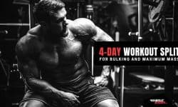 4-Day Workout Split For Bulking and Mass by Anabolic Bodies