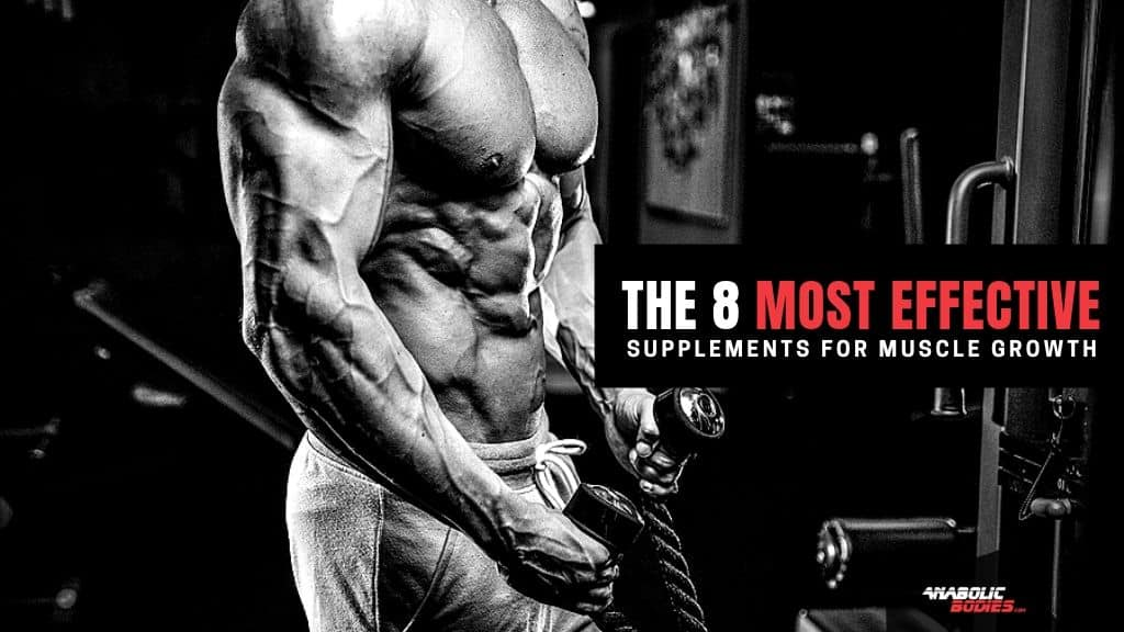 Most Effective Supplements Muscle Growth - Anabolic Bodies™